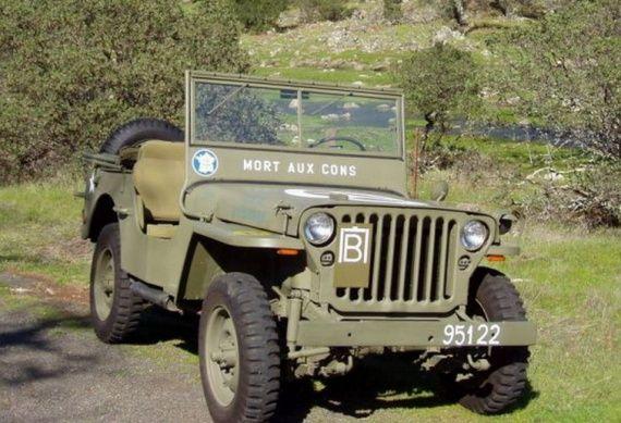 La Jeep Dans La Seconde Guerre Mondiale Jeep Voitures Anciennes