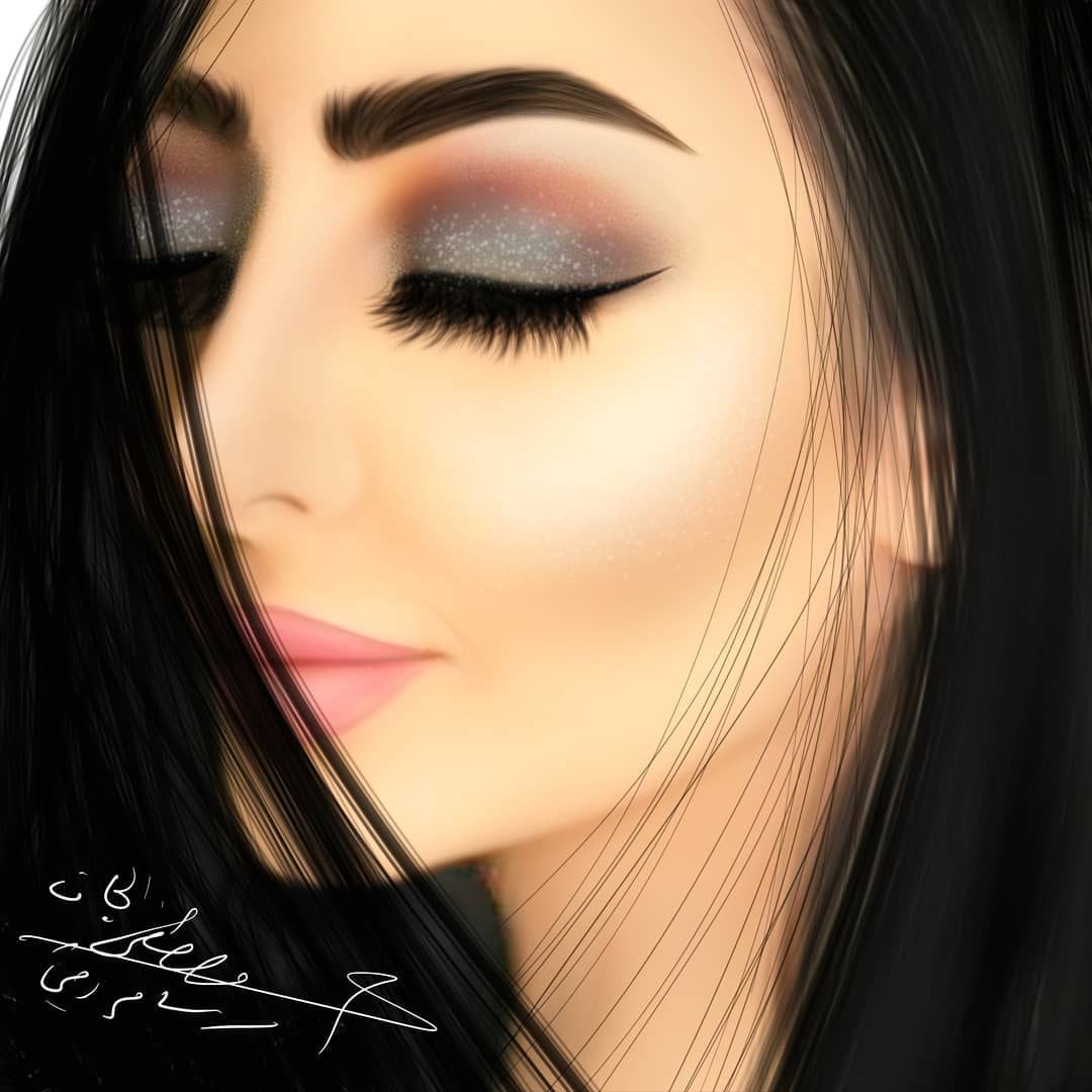 Photo Shared By مصطفى الجاف رسام رقمي On January 31 2019 Tagging Mostafa Jaf Image May Contain 1 Person Beautiful Girl Drawing Beauty Drawings Girly Art