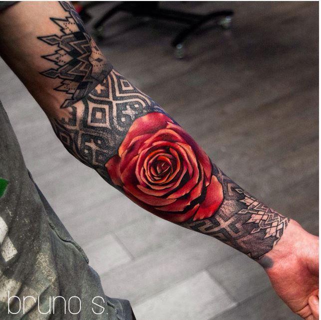 Bruno Santos Tattoo Artist At Dublin Ink Ireland Facebook Com Brunosantostattoo Tatuajes De Rosas Para Hombres Tatuajes Antebrazo Tatuajes De Rosas