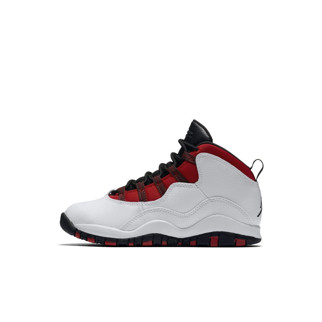 info for a4782 622cb Air Jordan Retro 10 (10.5c-3y) Little Kids  Shoe Size 13.5C (White)