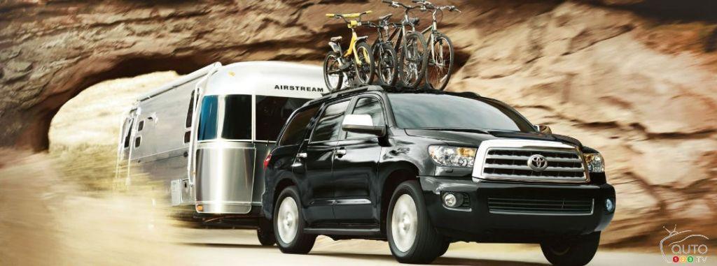 Top 10 FullSize SUVs for RVing Toyota dealership, Toyota