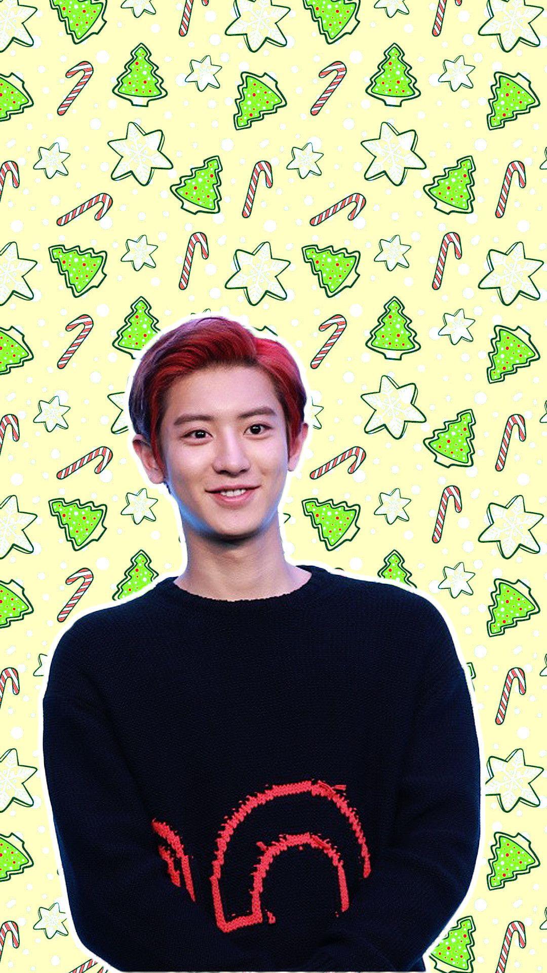 1080x1920 Exo Chanyeol Park Chanyeol Exo Wallpaper Exo Lockscreen Chanyeol Wallpaper Chanyeol Lockscreen Kpop Christmas Chanyeol Wallpaper Christmas Wallpaper