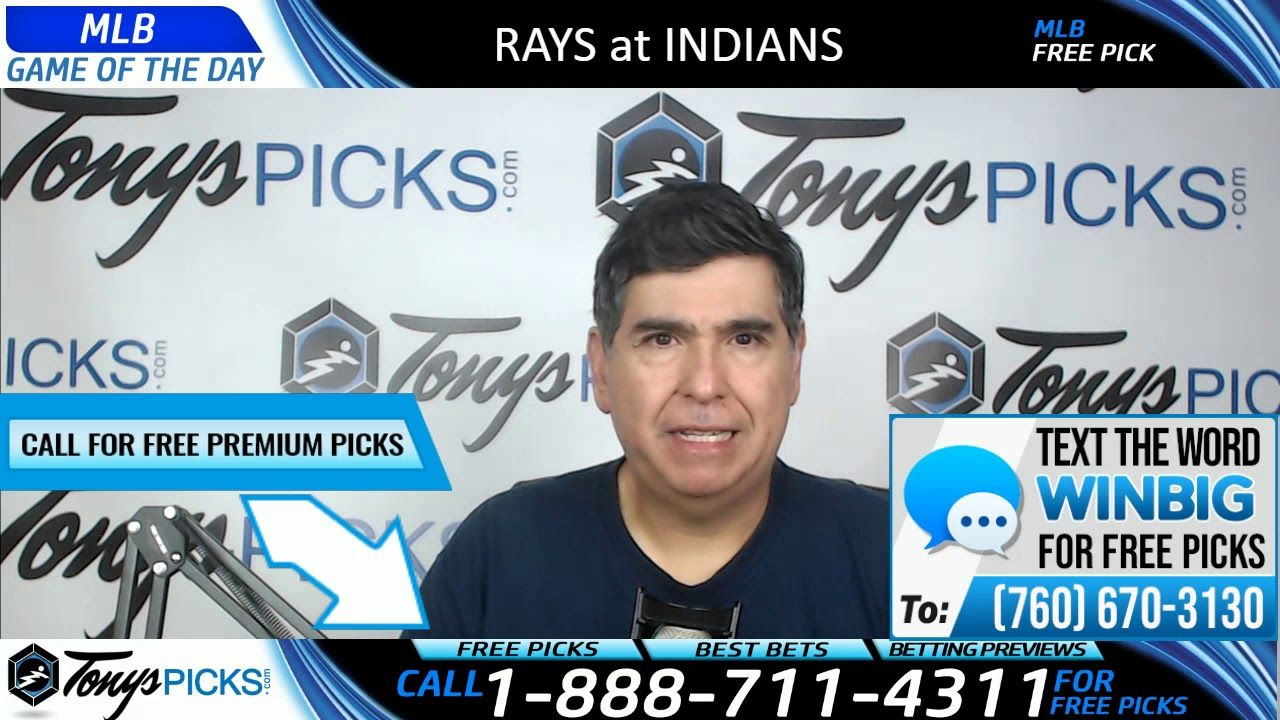 Tampa Bay Rays Vs Cleveland Indians Free Picks And Predictions 5 26 19 Mlb Atlanta Braves College Football Picks