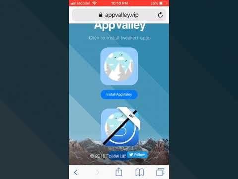 Appvalley install iPhone, iPad running iOS 12 01, iOS 12
