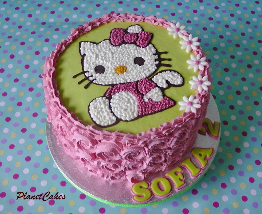 Hello Kitty Cake by Nia's