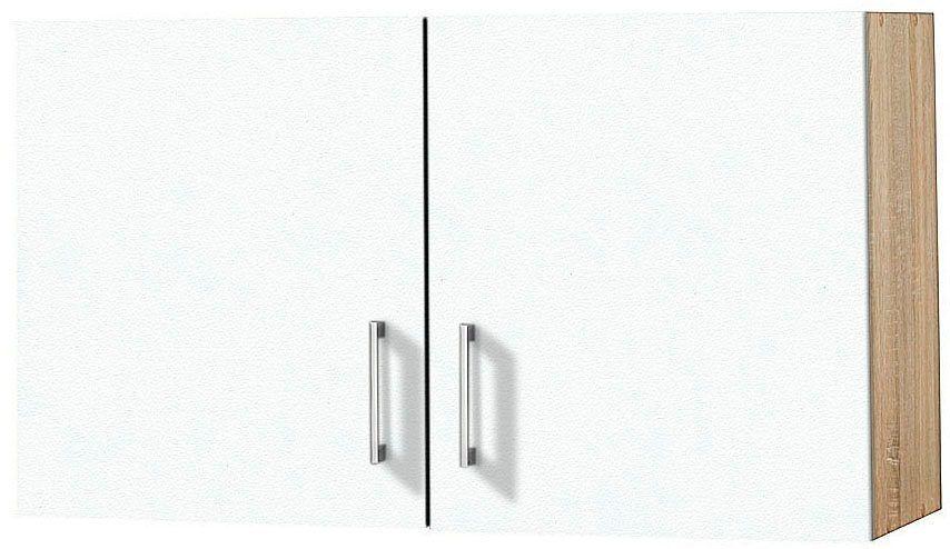 Hängeschrank weiß, Weiß, »Melbourne«, pflegeleichte Oberfläche - h ngeschrank wohnzimmer wei