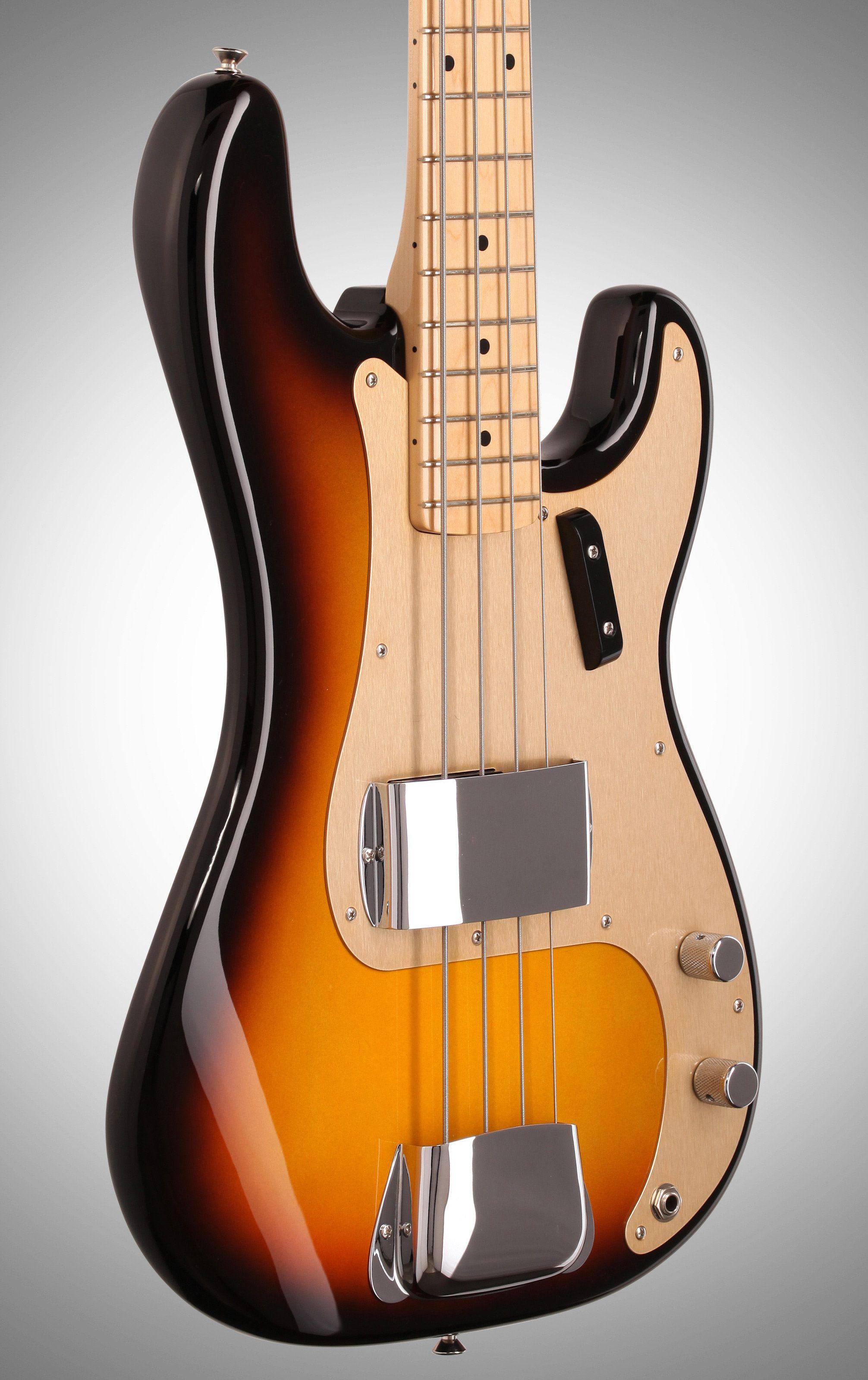 Fender American Vintage 58 Precision Electric Bass Fender American Vintage Fender Precision Bass Fender P Bass