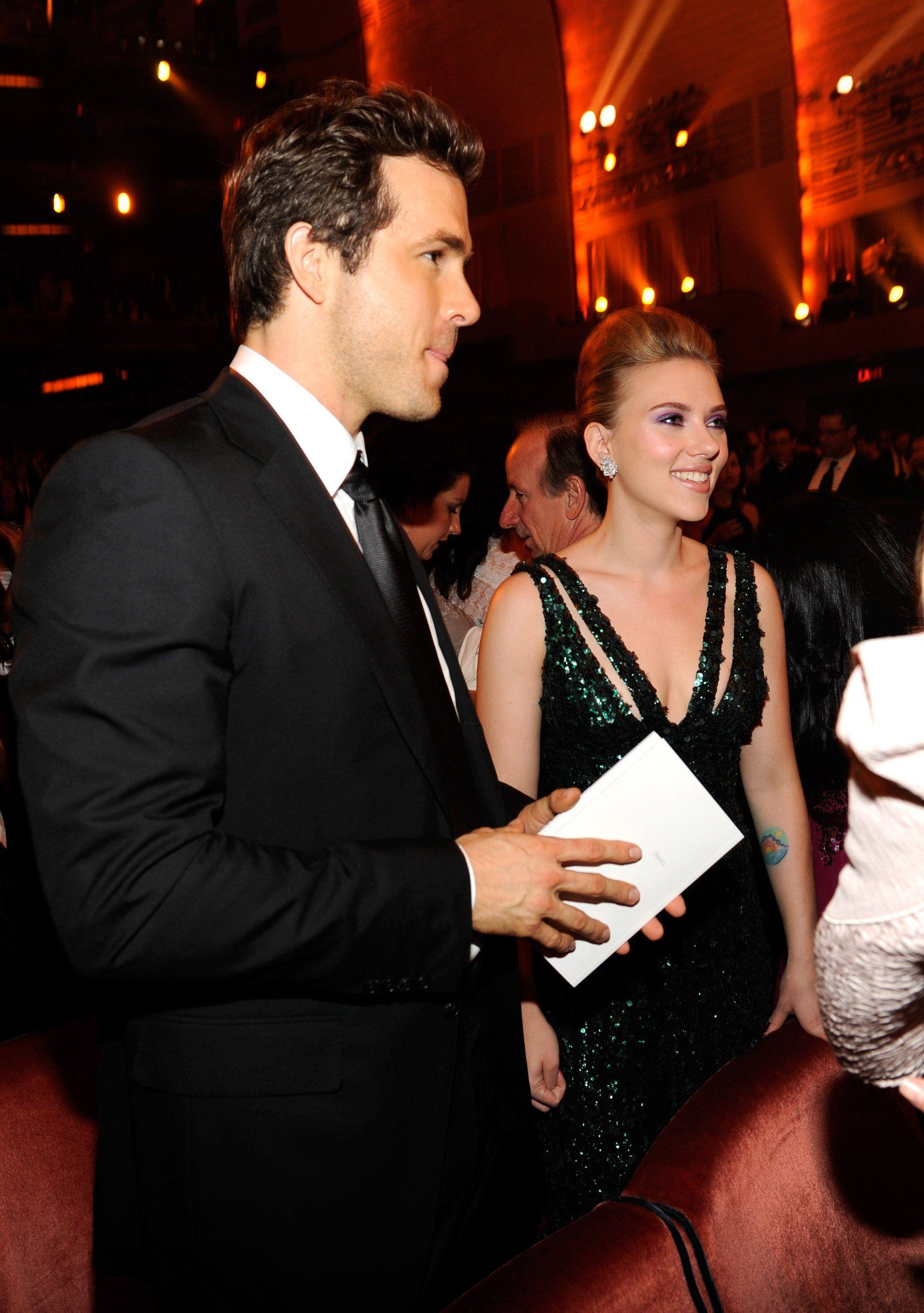 Ryan Reynolds and Scarlett Johansson Ryan reynolds