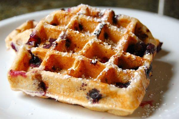 Healthy Blueberry Waffles Healthy Waffles Blueberry Waffles Recipe Waffle Recipes