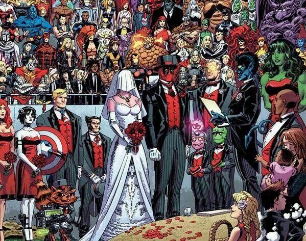 Deadpool S Wedding Marvel Deadpool Marvel Now Marvel