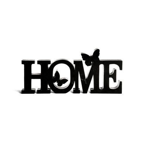 Der Schriftzug Home Aus Holz Ist Genau Das Richtige Fr Ein Wohnliches Ambiente In
