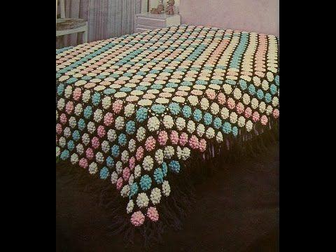 Crochet Patterns For Free Vintage Crochet Bedspread 1309
