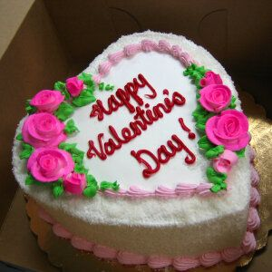 Heart Shaped Cake For Valentine S Day Birthday My Mom S Favorite