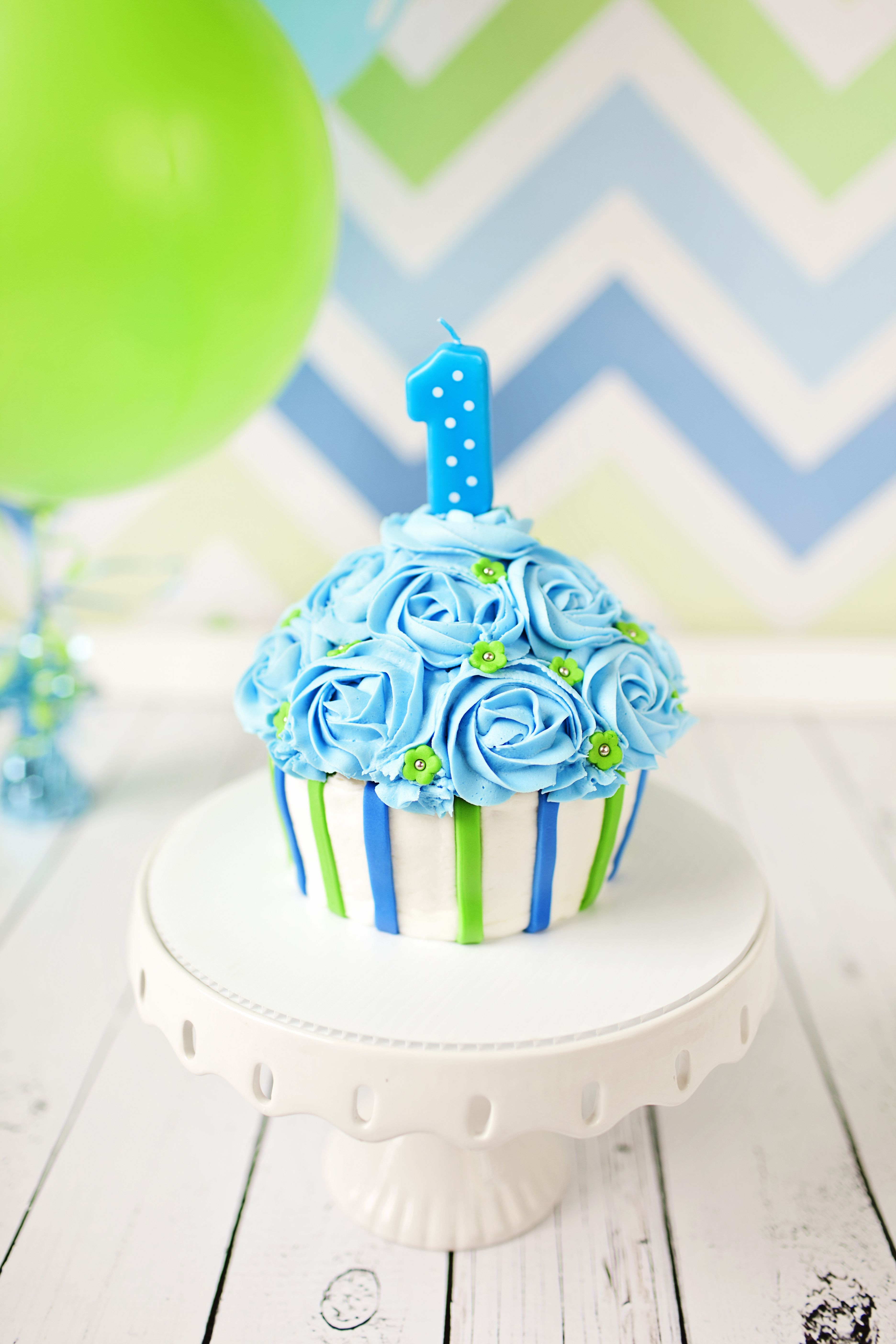 Giant Cupcake Cake Ideas Boys