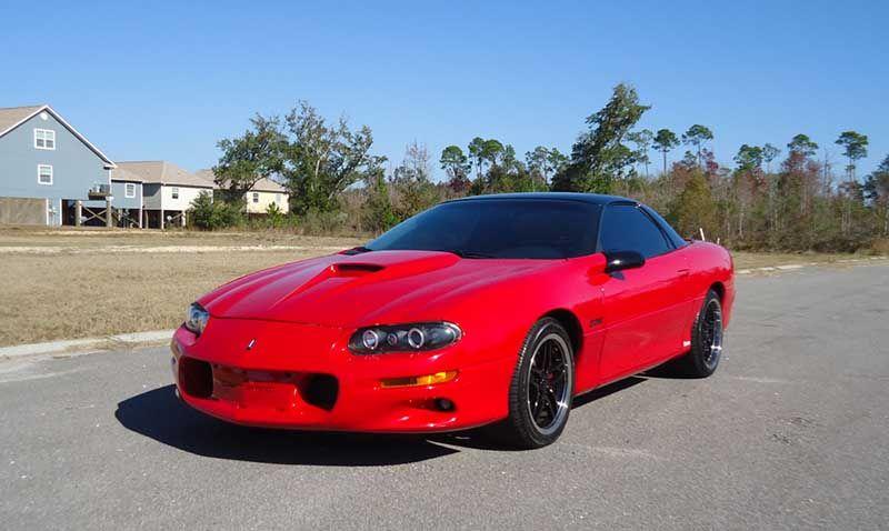 Red 1999 Chevrolet Camaro Z28 Ls1 5 7 Liter V8 Auto For Sale