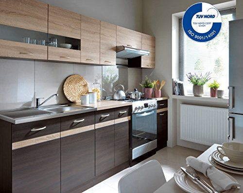 Küche 240cm von FIWODO® - ERWEITERBAR - günstig + schnell http - design küchen günstig