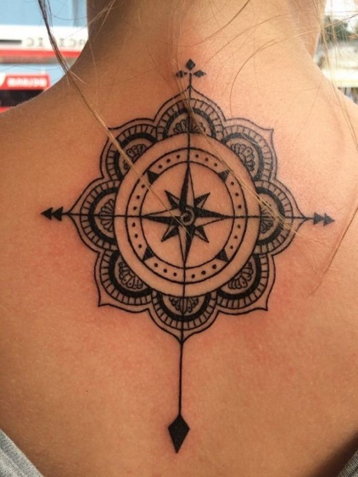 Photo of ▷ 142+ idées et images inspirantes sur Compass Tattoo! – #images #co …