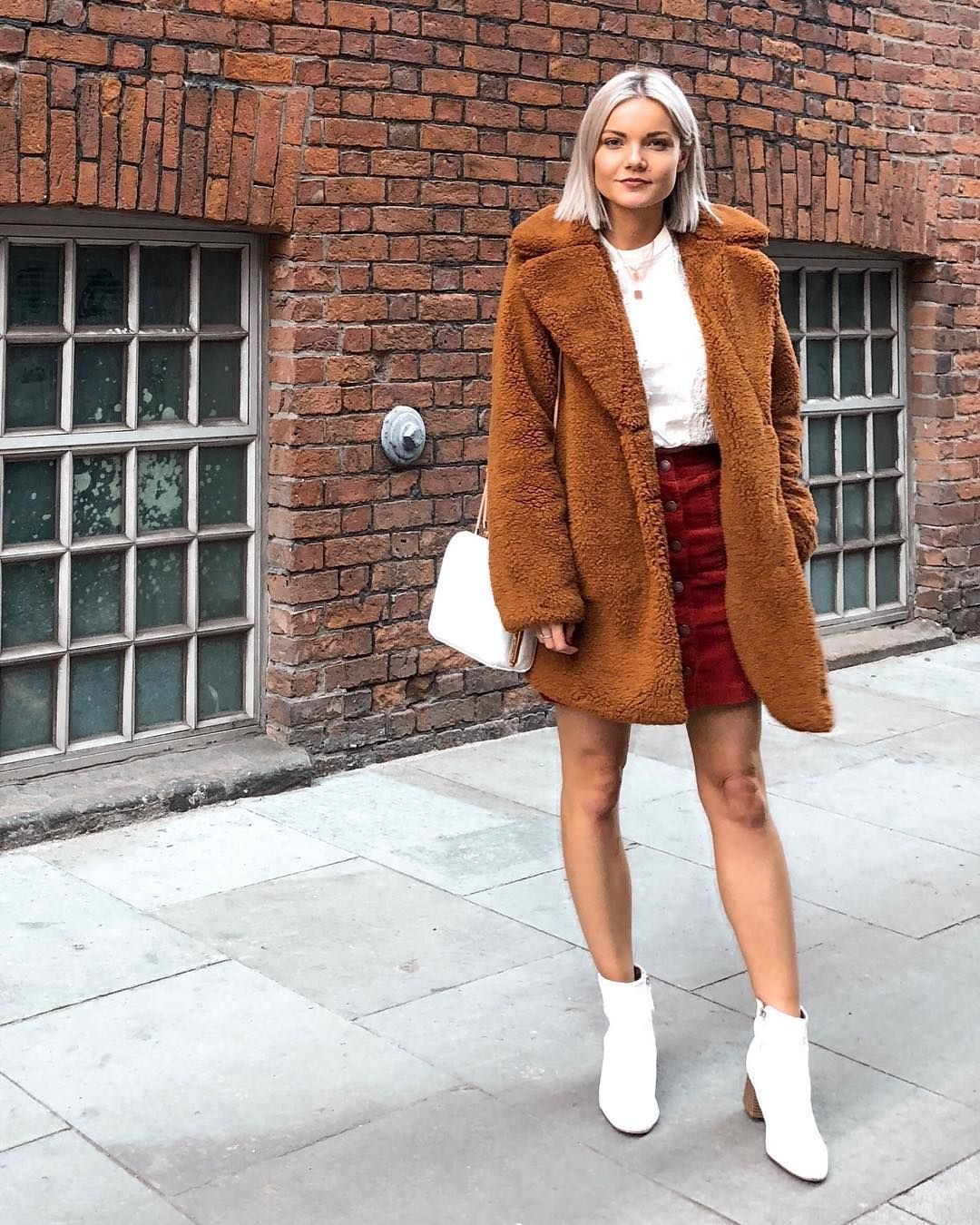 """a464e339adaf Nina Lea Caine on Instagram: """"I am in LOVE with this teddy coat; the ..."""