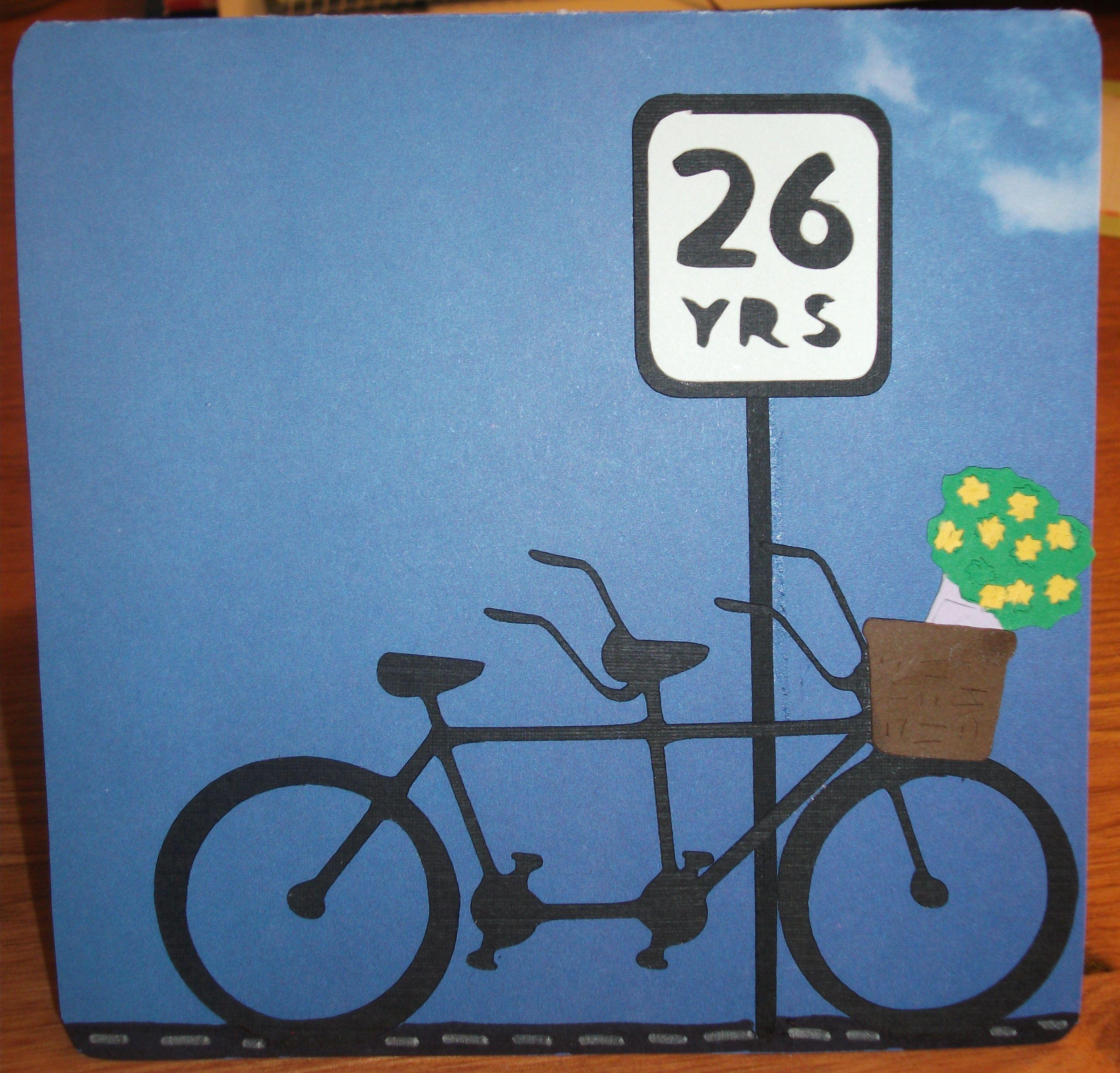 My Parent S 26th Anniversary Card 26th Anniversary 26th Wedding Anniversary Anniversary Gifts
