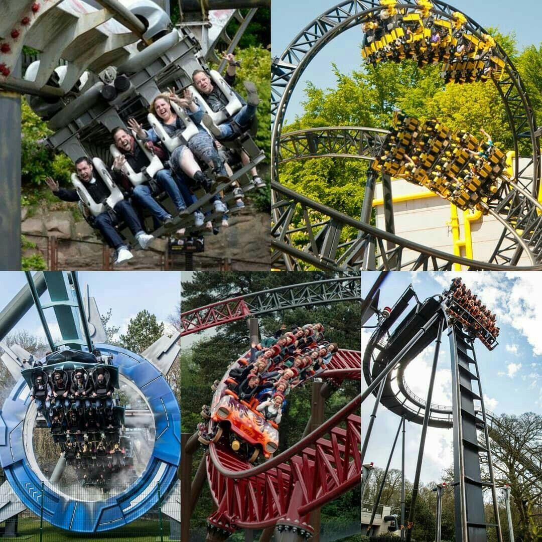 Pin By Diah Ekowati On Theme Park Roller Coaster Ride Thrill Ride Roller Coaster
