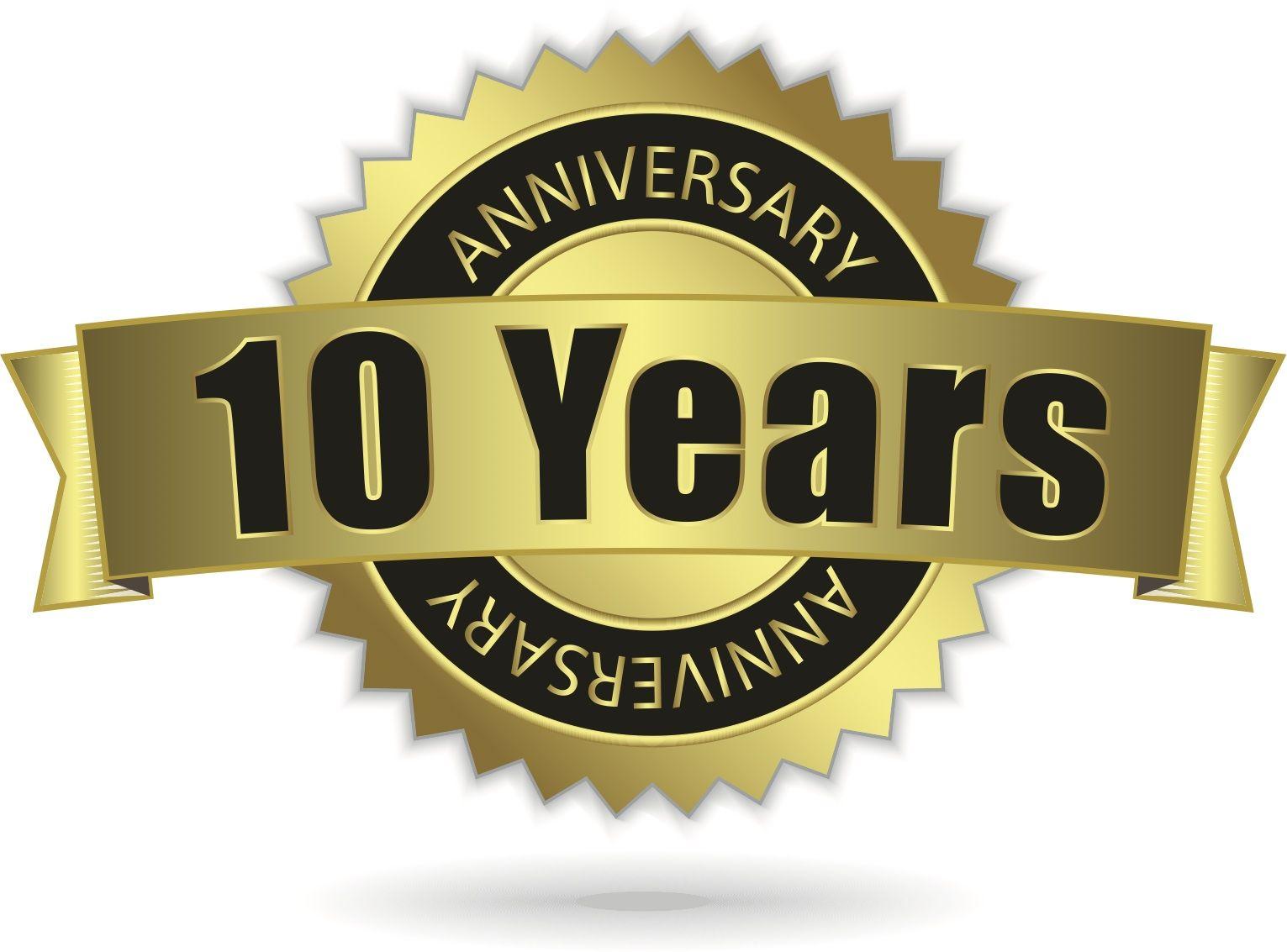happy 10 year work anniversary Business anniversary