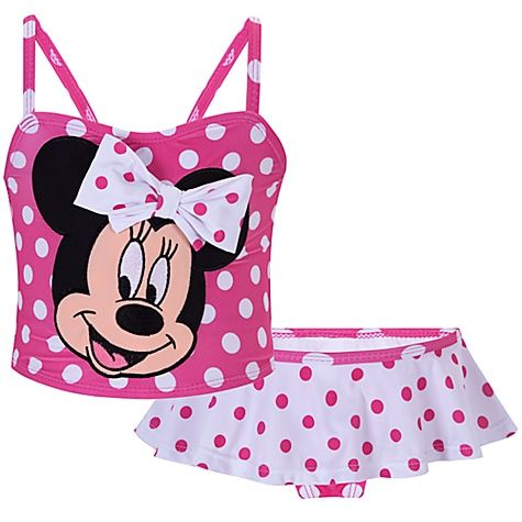 Pink and White Polka Dot Minnie Mouse