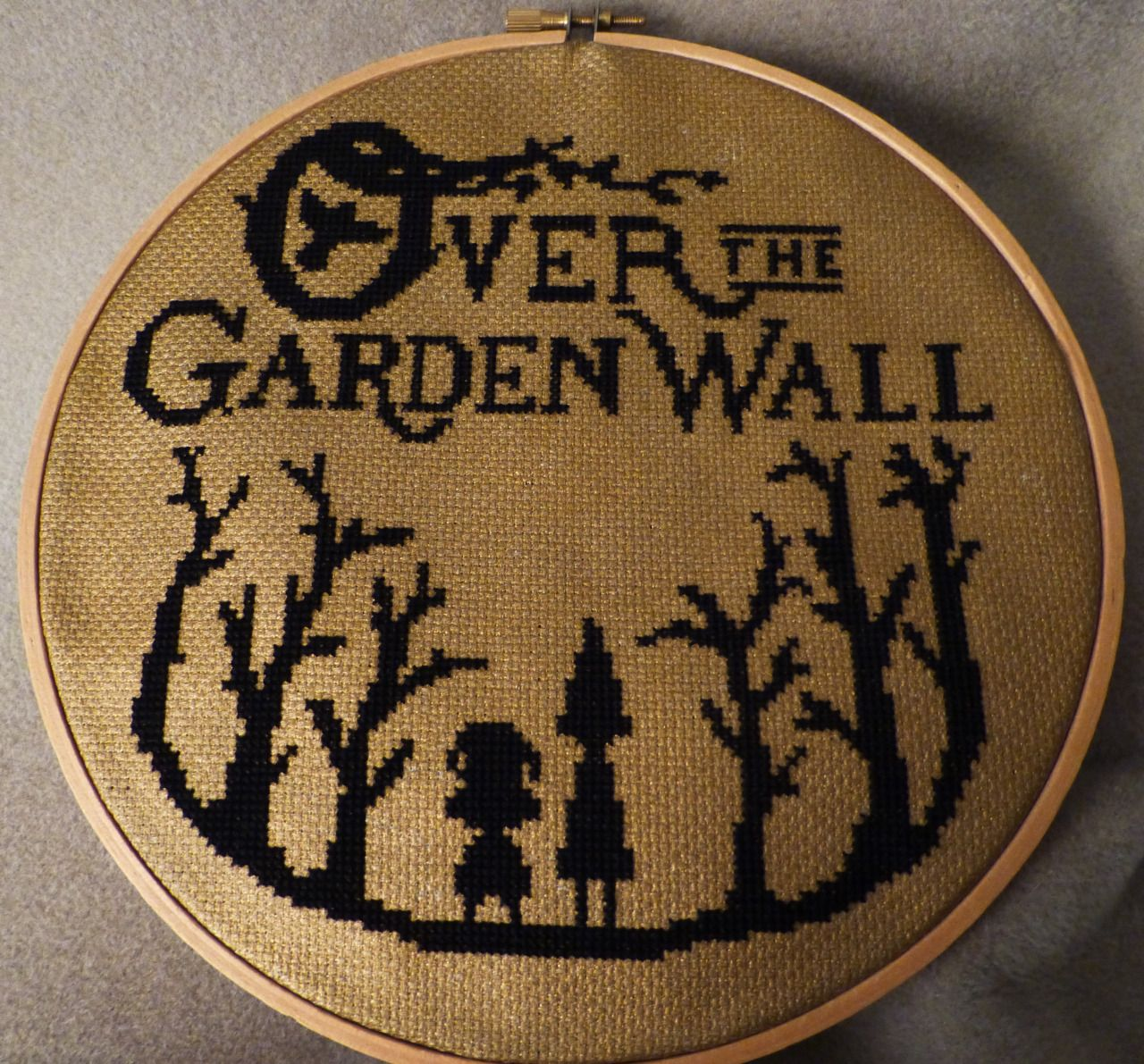 Shadesfire Over The Garden Wall Cross Stitch It S Finally Done