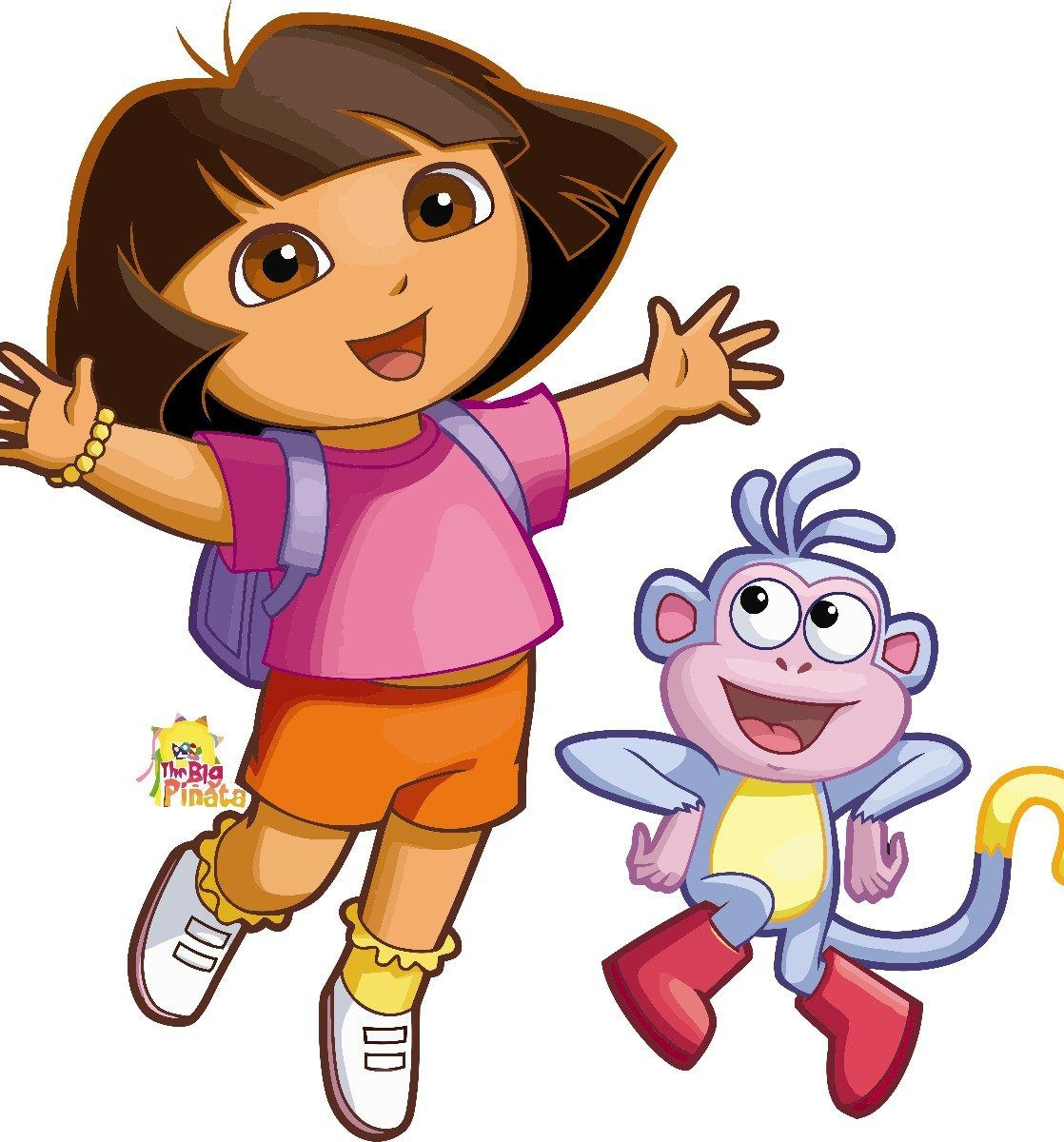 I used to watch Dora and it taught me some Spanish.