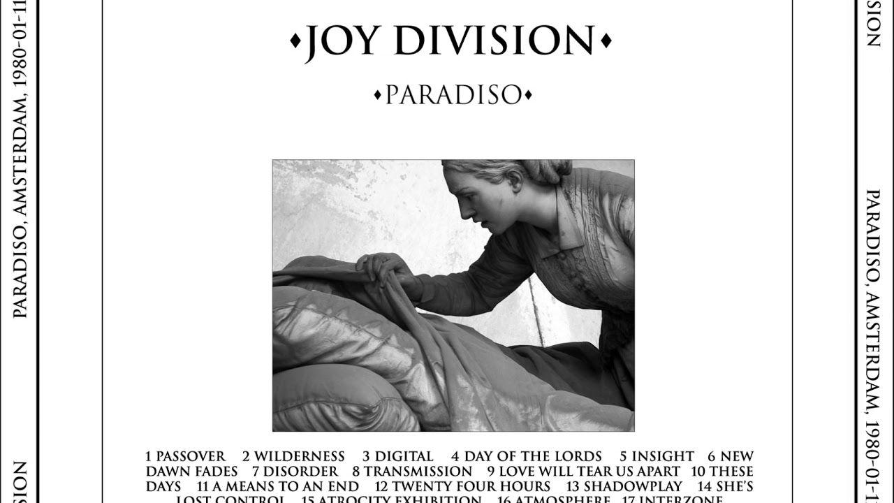 Joy Division Live Paradiso Amsterdam 1980 1 11 Mastertape