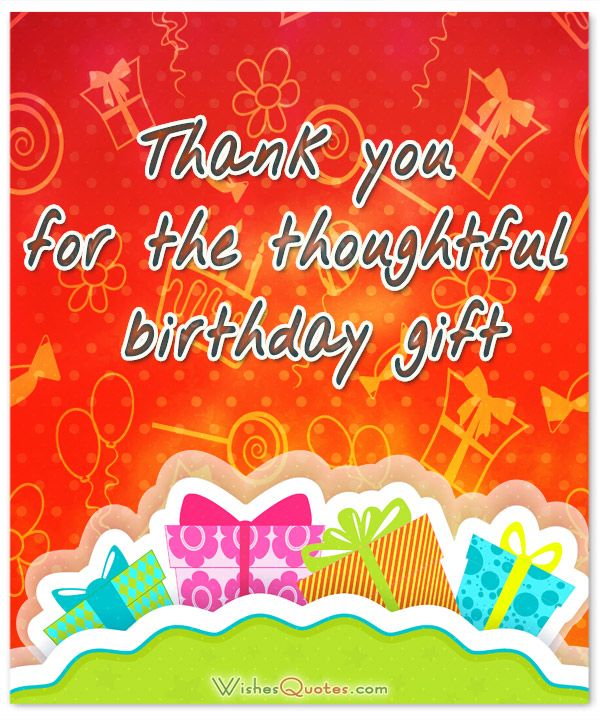 Thank You Qoutes Quotes For Birthday