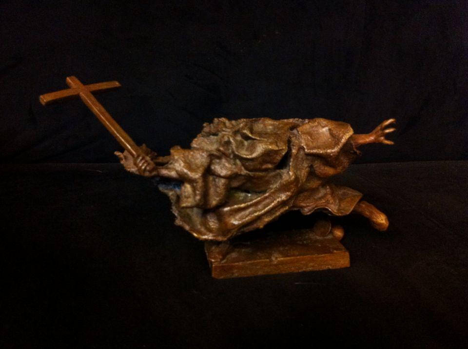 Andre Lassen bronze sculpture 1985 One of a kind