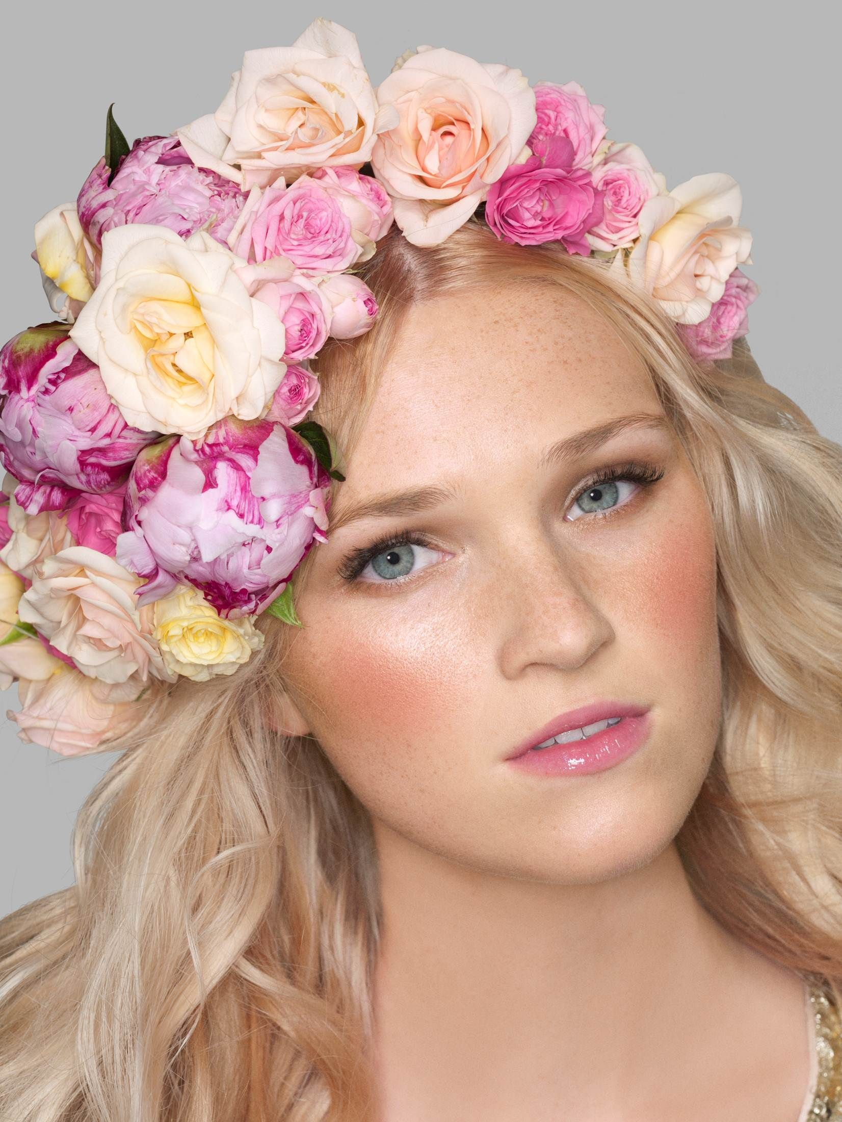 Hair flower crown by lucie doughty my work pinterest flower hair hair flower crown izmirmasajfo Choice Image