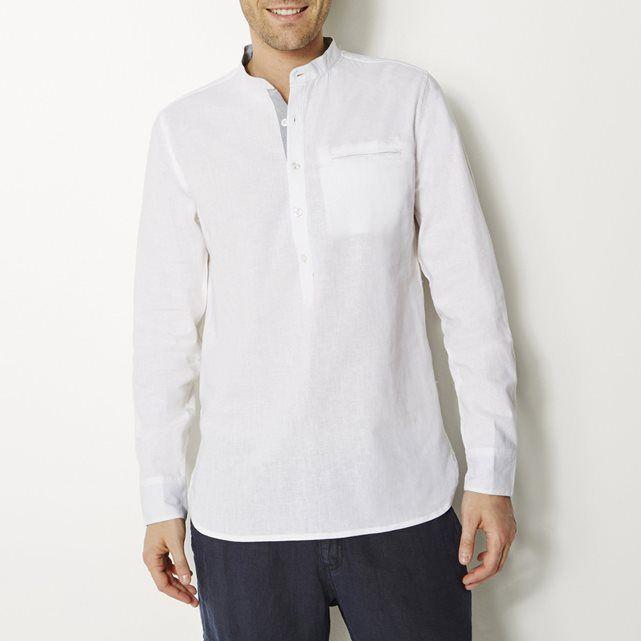 Camisa de Lino de Manga Larga Hombre find