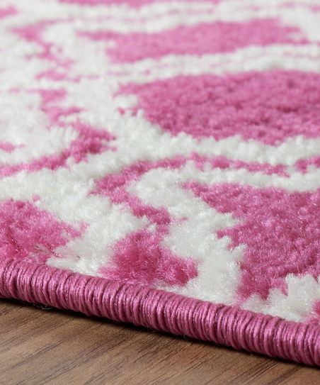 Well Woven Pink Calipso Rug | zulily