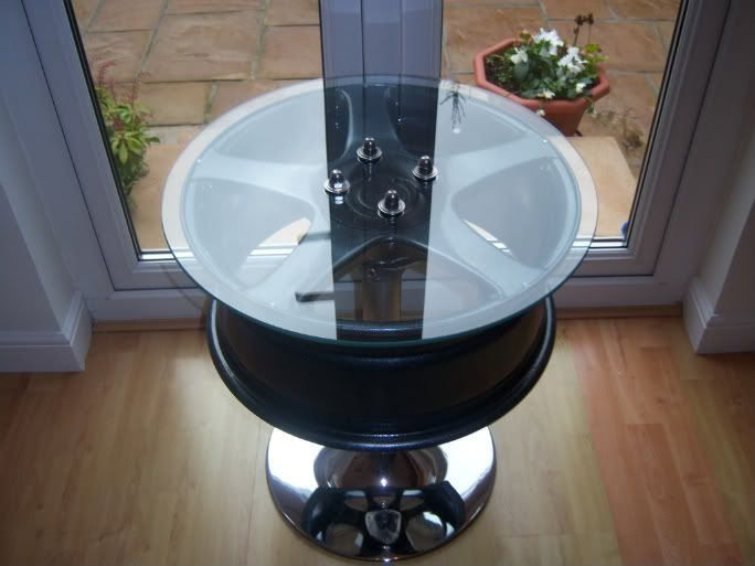 For Sale Alloy Wheel Coffee Table   VZi, Europeu0027s Largest VW, Community And  Sales