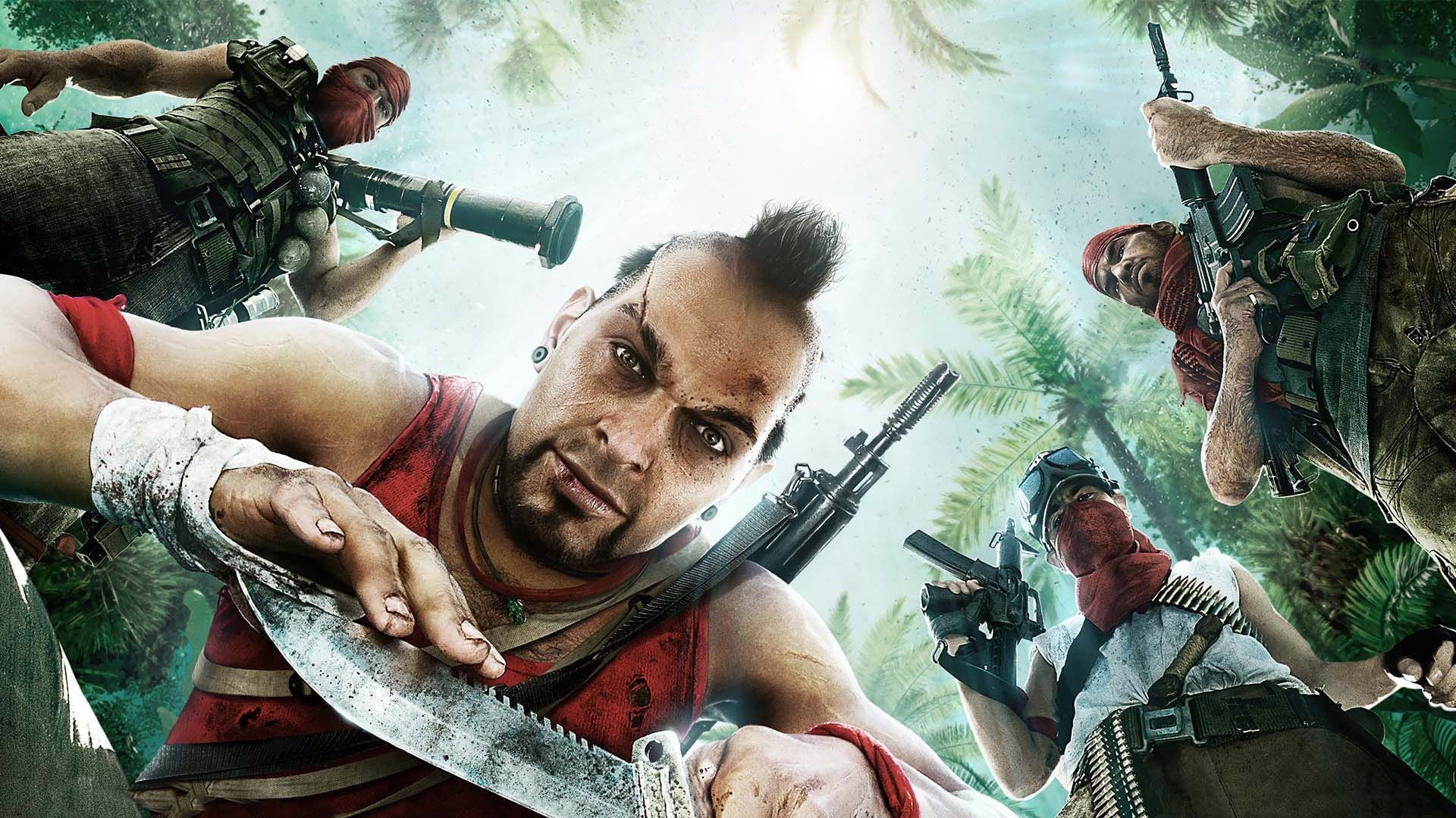 Vaas Far Cry 3 02 Hd Games Wallpapers For Mobile And Desktop