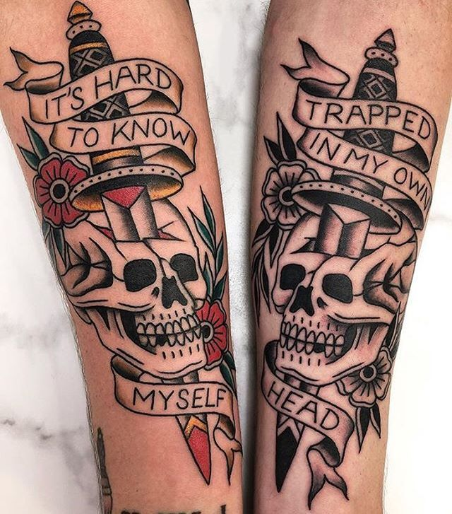 Find inspiration for an old school tattoo. – Tattoo Ideas – #a # for #Inspiration #School #search