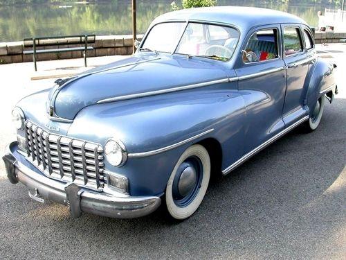 1947 Dodge Fluid Drive Classic Cars Dodge American Classic Cars
