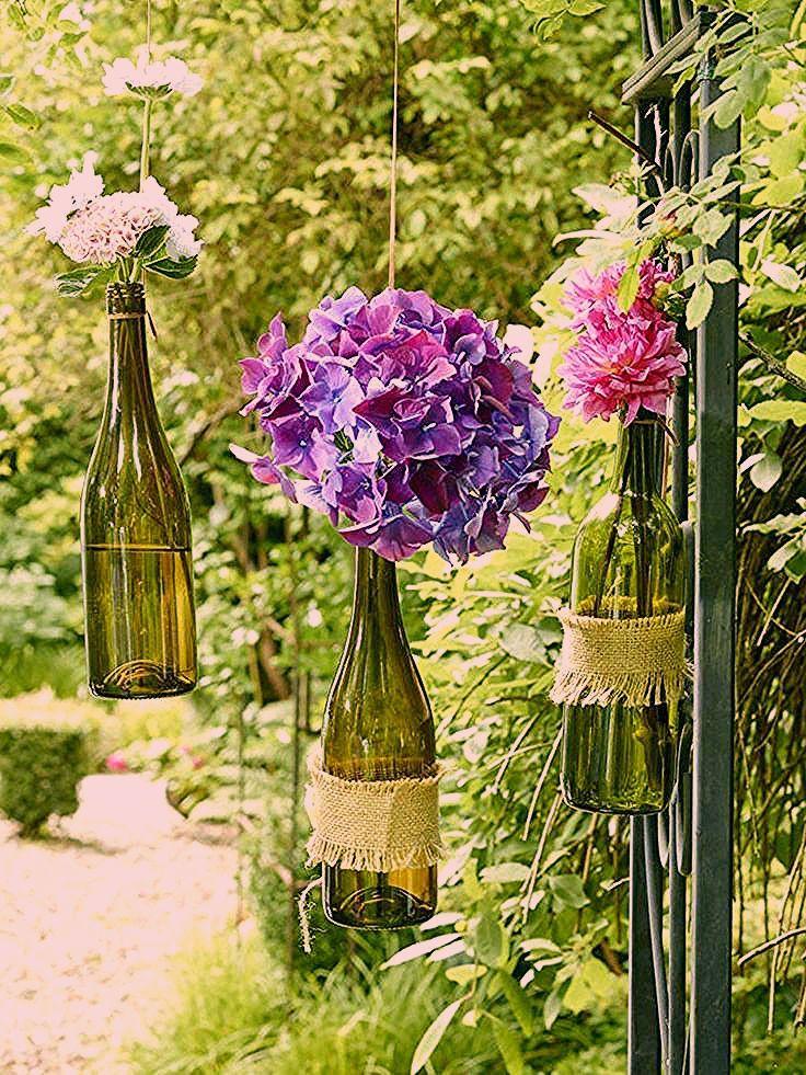 Photo of Deko-Ideen fürs kleine Weinfest im Garten    Wunderweib