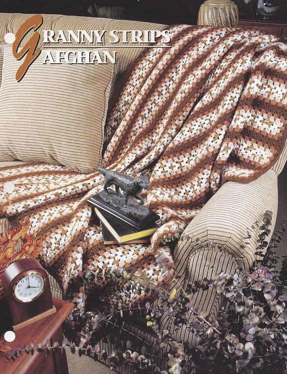 Granny Strips Afghan Annie\'s Crochet Quilt and Afghan | Crochet ...