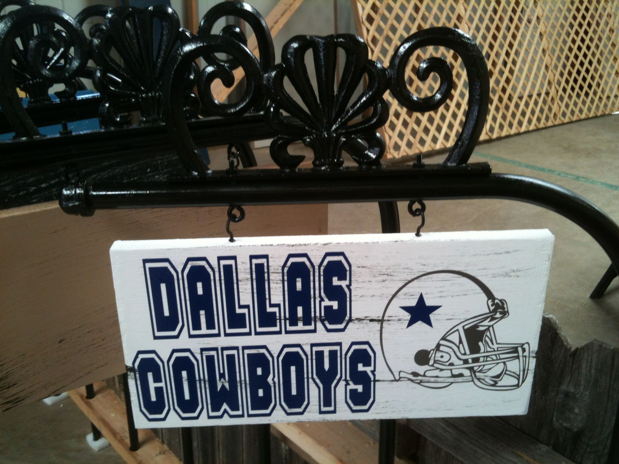 personalized yard signs 35 dallas cowboys pinterest