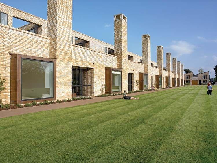Accordia feilden clegg bradley studios housing low for Cambridge architecture