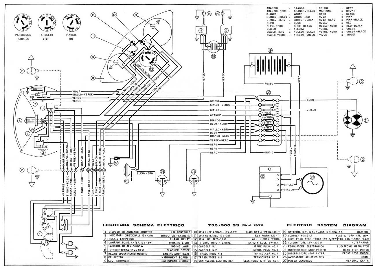 Ducati Electrical Wiring Diagrams