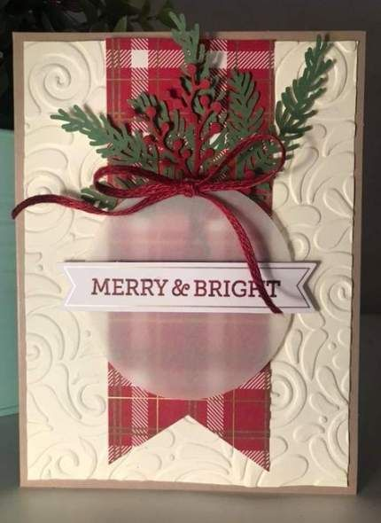20 Ideas Diy Christmas Cards Stampin Up Holidays -   19 holiday Cards diy ideas