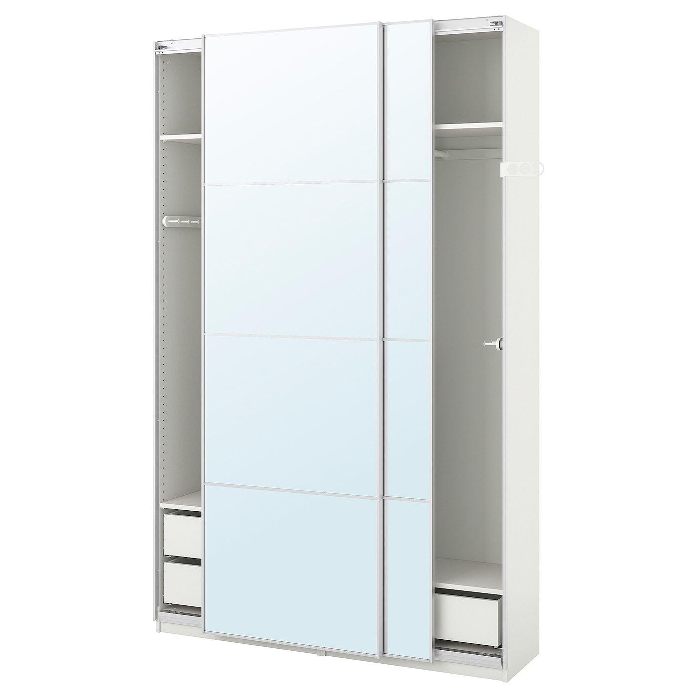 Ikea Armoire Penderie In 2020 Pax Kleiderschrank Spiegelglas Fensterputzmittel
