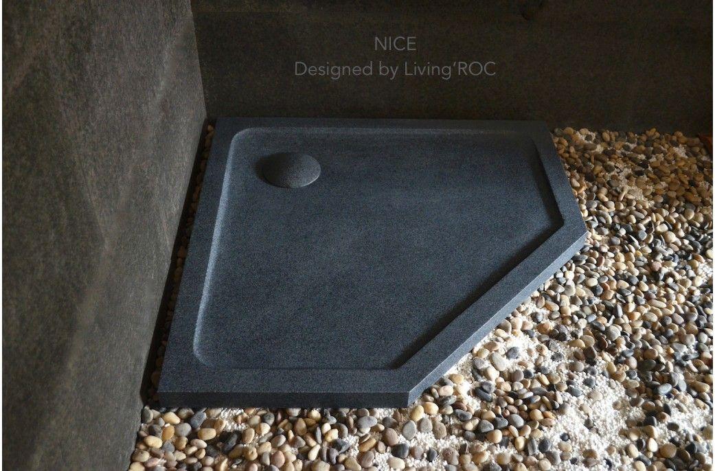 36 38 42 Neo Angle Gray Granite Shower Base Nice Granite