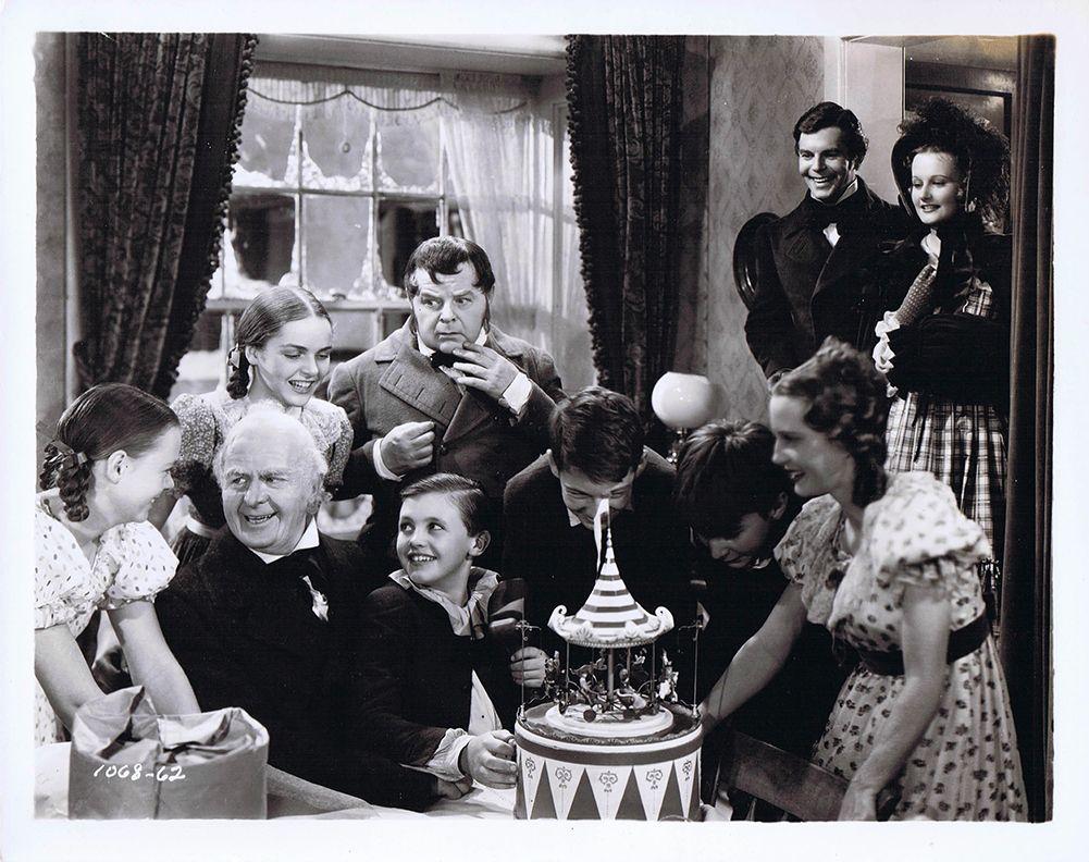 """The Cast of """"A Christmas Carol"""" (1938) LR Muriel"""