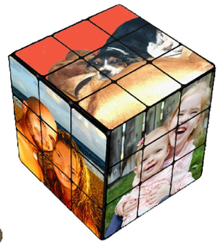 Pin for Later: How to Give the Raddest Gifts They've Ever Seen Photo Rubik's Cubes If your friend has the classic Rubik's Cube mastered, give a personalized photo Rubik's Cube ($20) made from favorite photos.