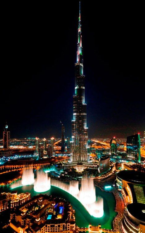 Down Town Dubai - Celebration U.A.E National day