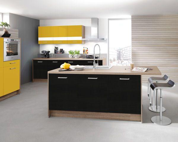 Cuisine Avec Ilot Calla De Cuisines Aviva Cuisine Moderne Cuisines Design Ilot Cuisine